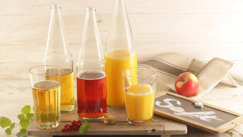Fruchtsaft ist das Getränk der Coronakrise