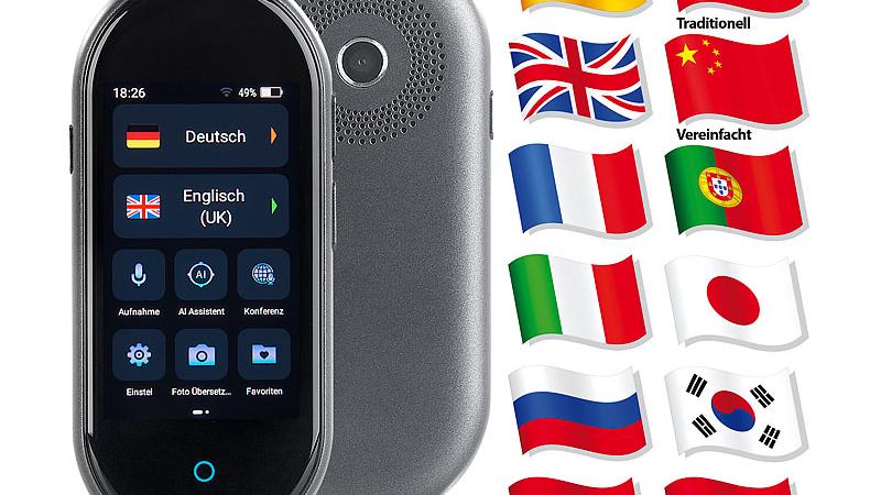 simvalley Mobile Echtzeit-Sprachübersetzer TTL-105
