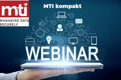 Neue Webinar-Reihe von MTI Technology