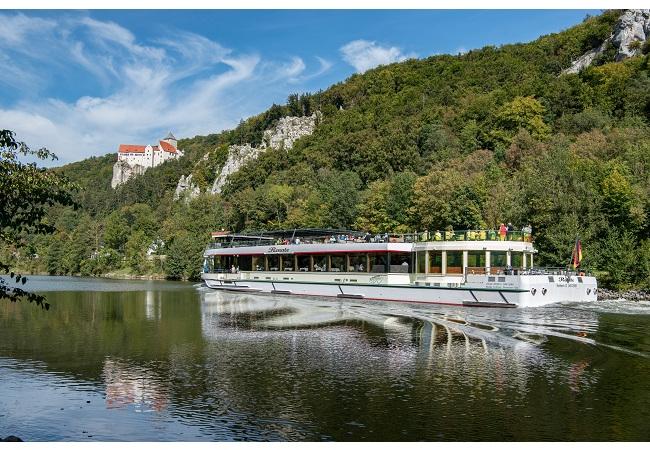 Weltbekannte Personenschifffahrt im Donau- und Altmühltal nimmt Fahrbetrieb wieder auf