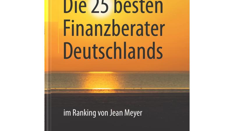 """Neuerscheinung des Buches """"Die 25 besten Finanzberater Deutschlands"""" bei Springer"""