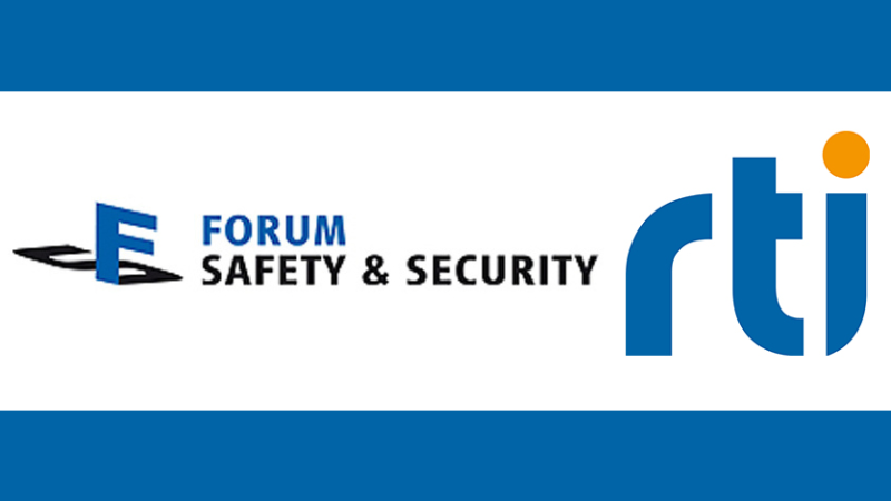 RTI auf dem Virtuellen Forum Safety & Security am 23. Juni