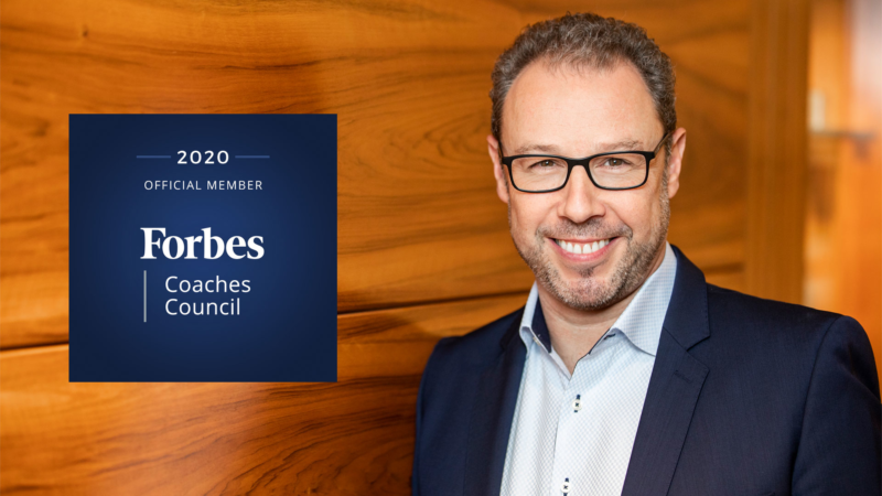 Thomas Gelmi to join Forbes Coaches Council