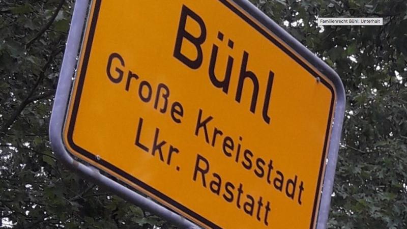 Familienrecht in Bühl: Unterhalt und Kurzarbeit