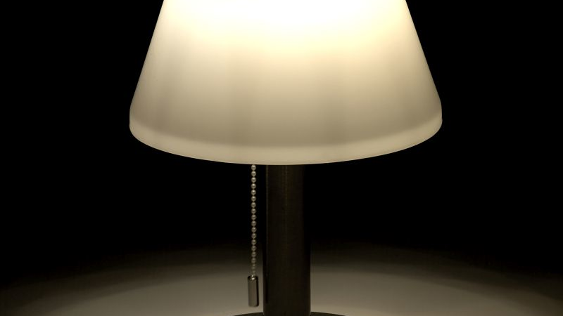 Luminea Dimmbare Solar-LED-Tischleuchte