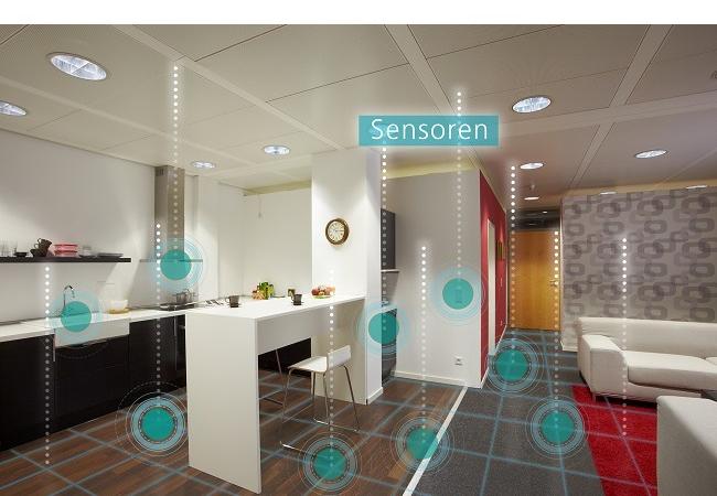 Im Alltag unterstützen, im Notfall reagieren – Smart Living: Vernetzte Sensoren