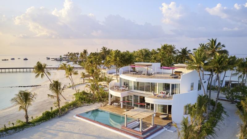 Ein Resort für sich allein – LUX* North Male Atoll Resort & Villas bietet exklusives Insel-Buyout