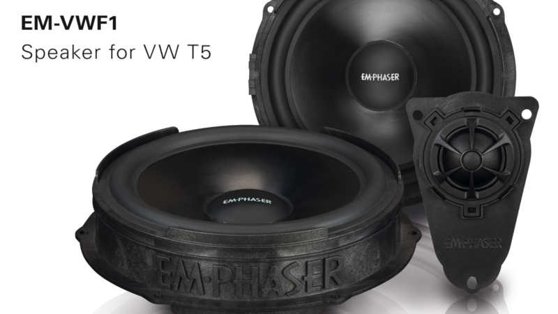 Sound Upgrade in VW T5 – EMPHASER's Speaker EM-VWF1