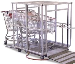 Automatisches Einkaufswagen-Desinfektions-Gerät