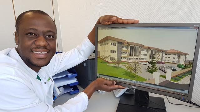 Draka-Datenkabel für Krankenhaus in Ghana