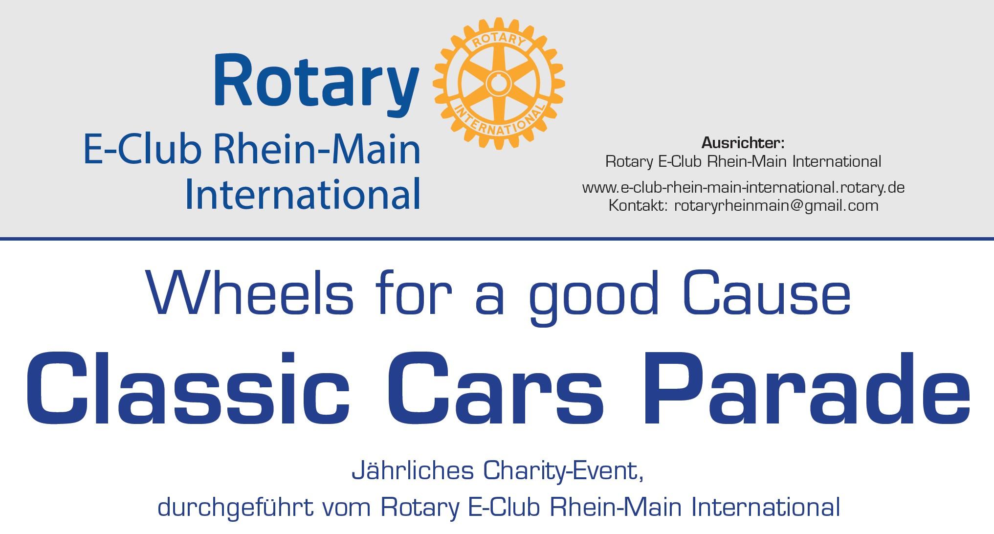 Rotary RMI Classic Cars Parade 2020 in Alzenau