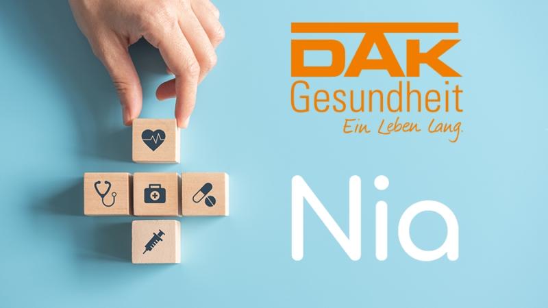 DAK-Gesundheit und Nia Health kooperieren