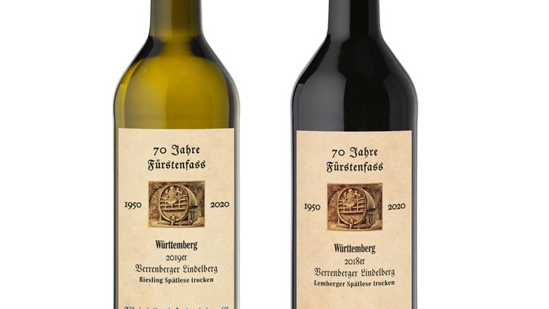 Weine zum 70. Geburtstag der Weinkellerei Hohenlohe