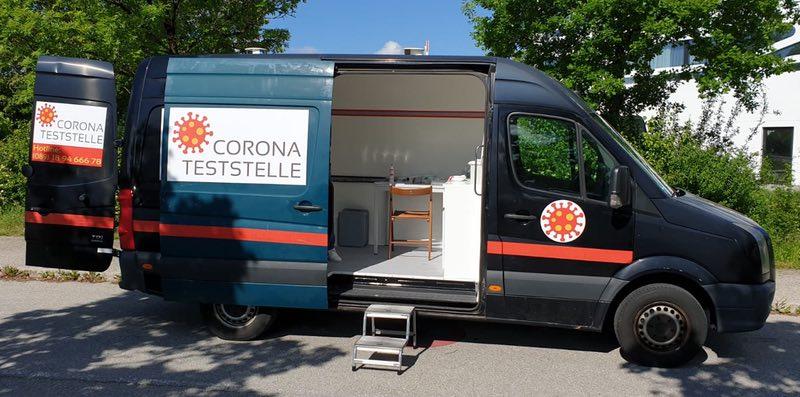 Corona Test für Risikogruppen in München