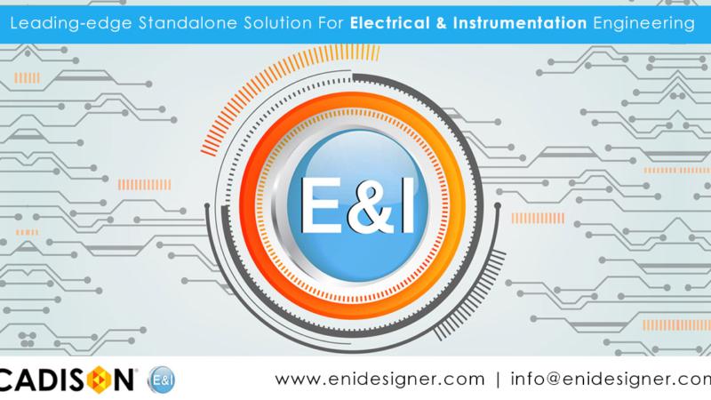 ITandFactory Announces the New Product Release of  CADISON E&I Designer