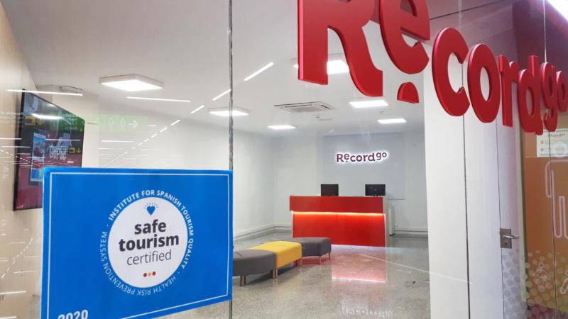 """""""Safe Tourism Certified""""-Siegel für Record go"""
