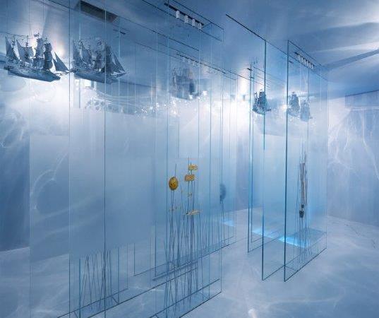 Unterwasserwelt in unterirdischen Stollen – Goldkammer Frankfurt setzt Schätze aus dem Meer eindrucksvoll in Szene