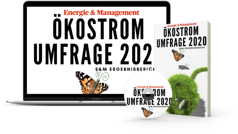Ökostrommarkt 2020 –  Immer mehr grün – die 15. Ökostromumfrage von Energie & Management