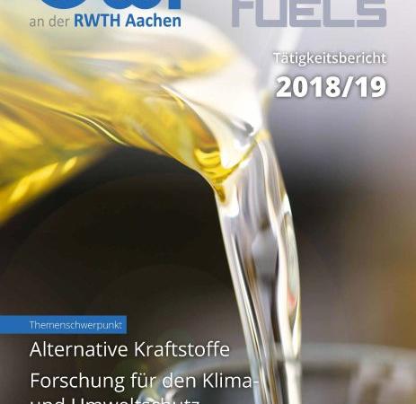 Tätigkeitsbericht 2018/ 19 von OWI und TEC4FUELS erschienen