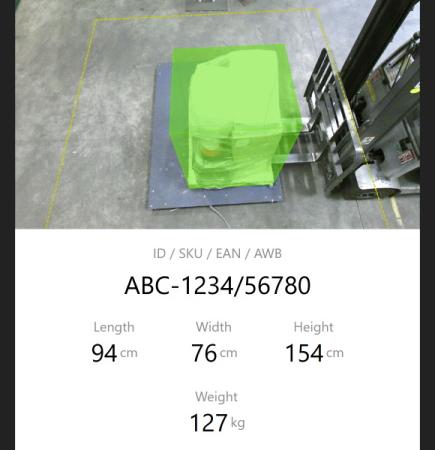 Bessere Frachtdaten mit der innovativen MetriXFreight Vermessungstechnologie