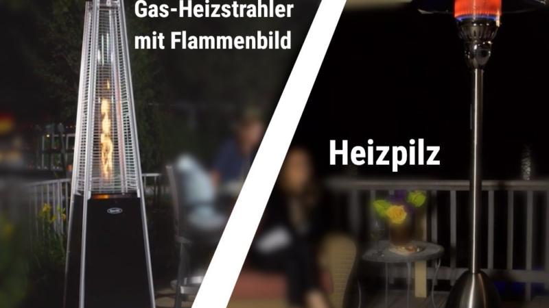 Ratgeber: Heizstrahler & Heizpilze für Ihren Garten