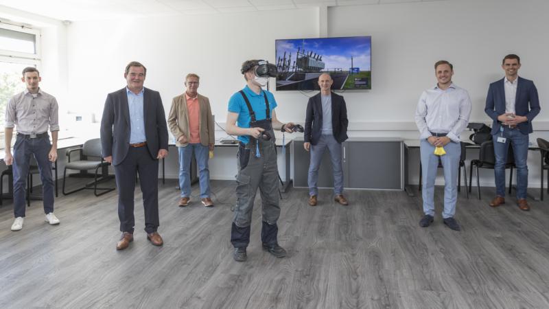 Pfaffenhofener Bayernwerk-Azubis lernen ab sofort in virtueller Welt – Entwicklung aus eigener Digitalisierungsschmiede