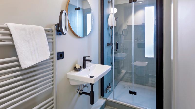 Anspruchsvolles Interior-Design bis unter die Dusche: Bette im stilwerk Hotel Heimhude