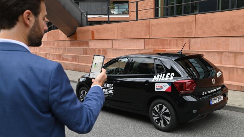 FREE NOW integriert Carsharing-Angebot in die eigene App