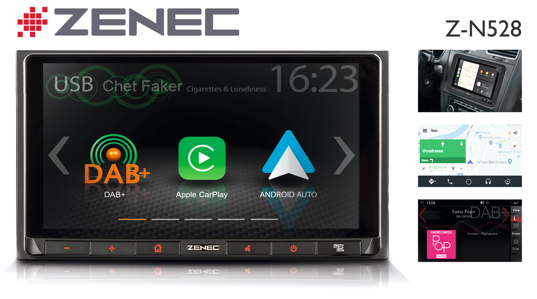 Mobiler Lifestyle fürs Auto – ZENECs Infotainer Z-N528