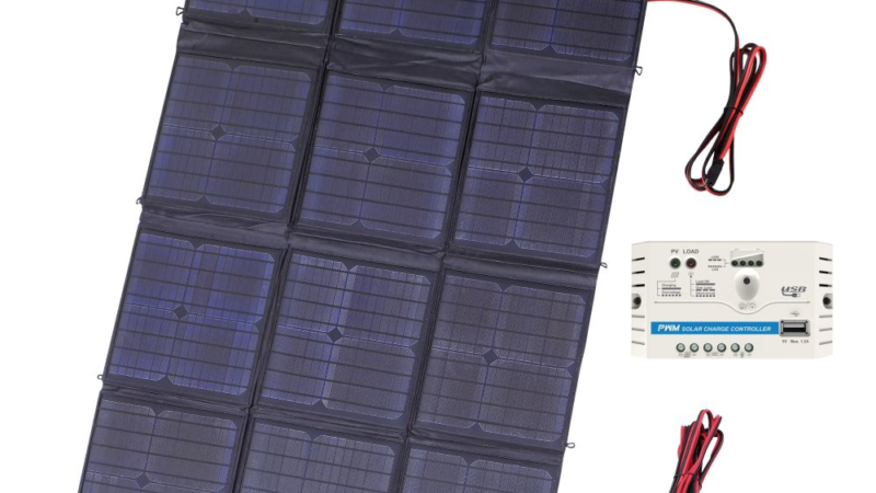 revolt Mobiles, faltbares Solarpanel