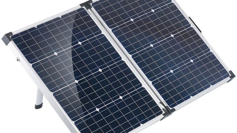revolt Faltbares mobiles Solar-Panel 110 Watt