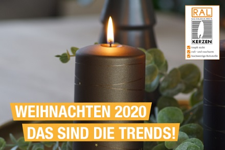 Kerzentrends für Weihnachten 2020