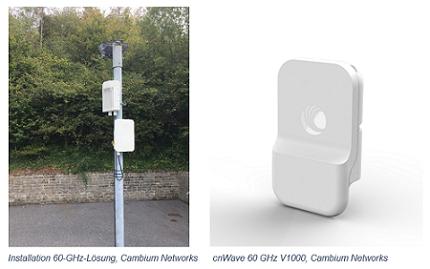 Cambium Networks erweitert Zugang zu kostengünstigem Multi-Gigabit-Breitband mit innovativem 60-GHz-Fixed-Wireless