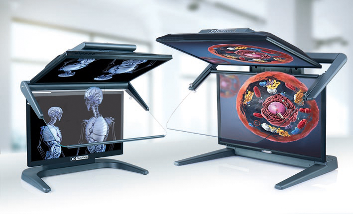 3D PluraView – 3D-Stereo Monitor für die Medizintechnik