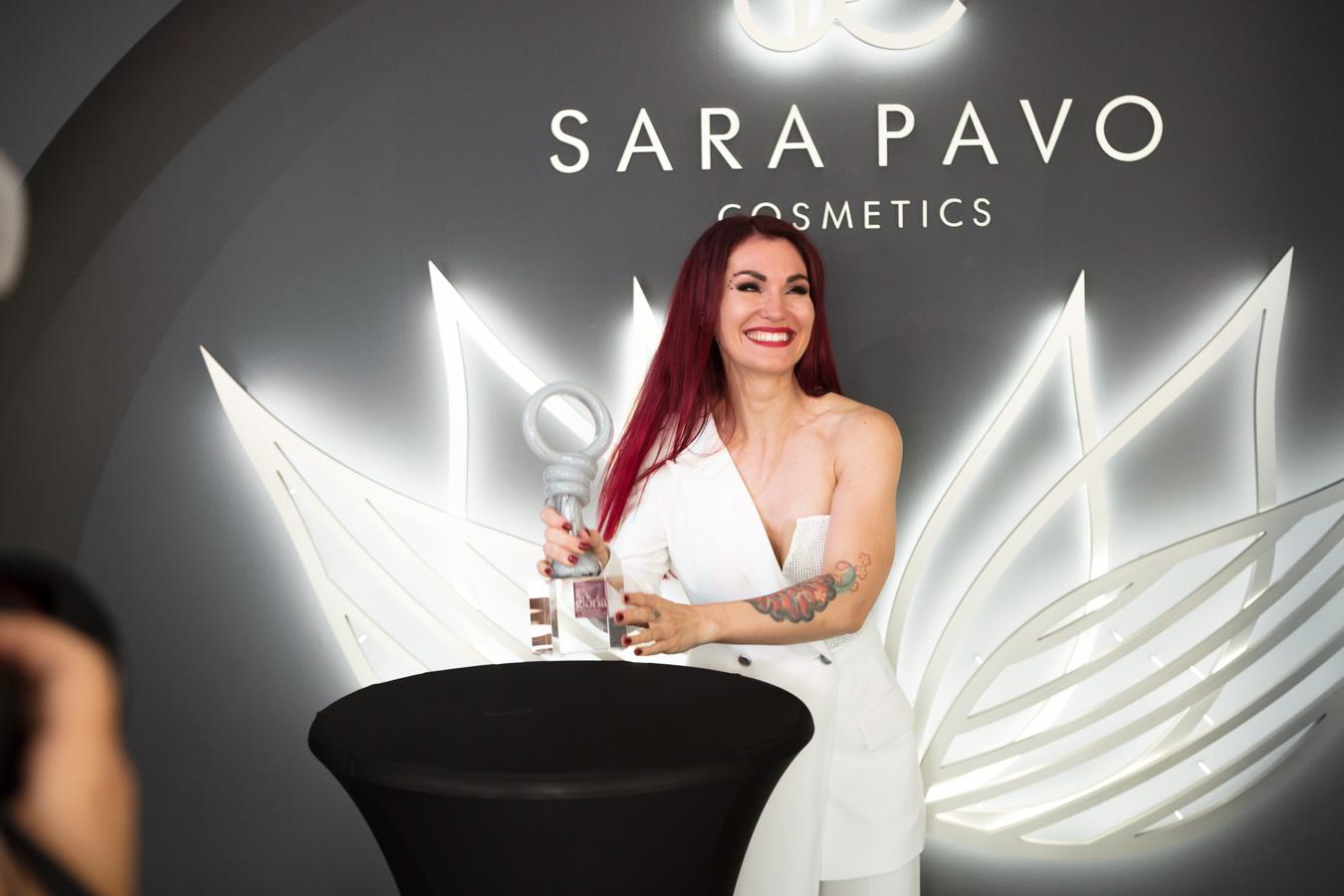 "SARA PAVO erhält ""Gloria – Deutscher Kosmetikpreis 2020"""