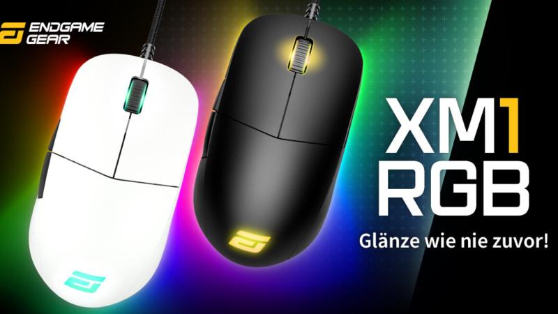 Neu bei Caseking: Endgame Gear XM1 RGB Gaming-Maus!