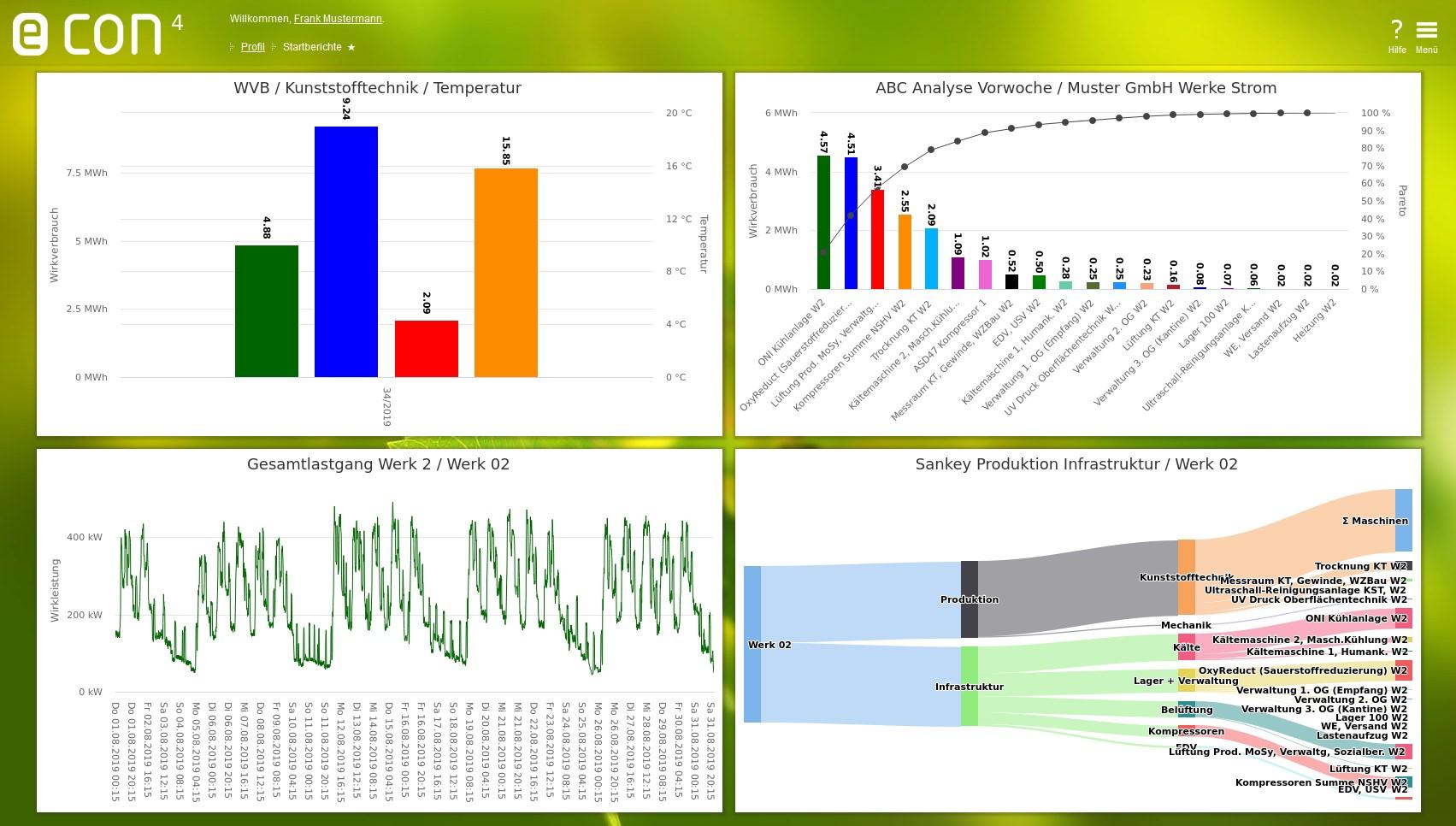Neue Energiemanagement-Software econ4
