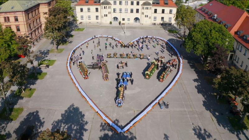 #UnserHerzFürDieWiesn – Ein Gruß der Münchner Brauereien und der Oktoberfest-Familie in die Welt