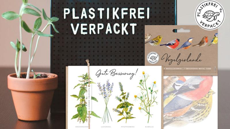 Grätz Verlag entwickelt Naturliebe Karten und Produkte von Daniela Drescher ohne Plastikverpackungen