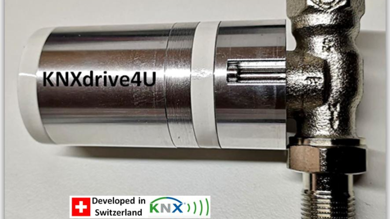 KNXdrive4u – The first KNX RF S Valve Drive