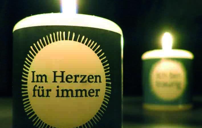 Meine kleine Kerze – für trauernde Menschen neue innovative Produktlinie