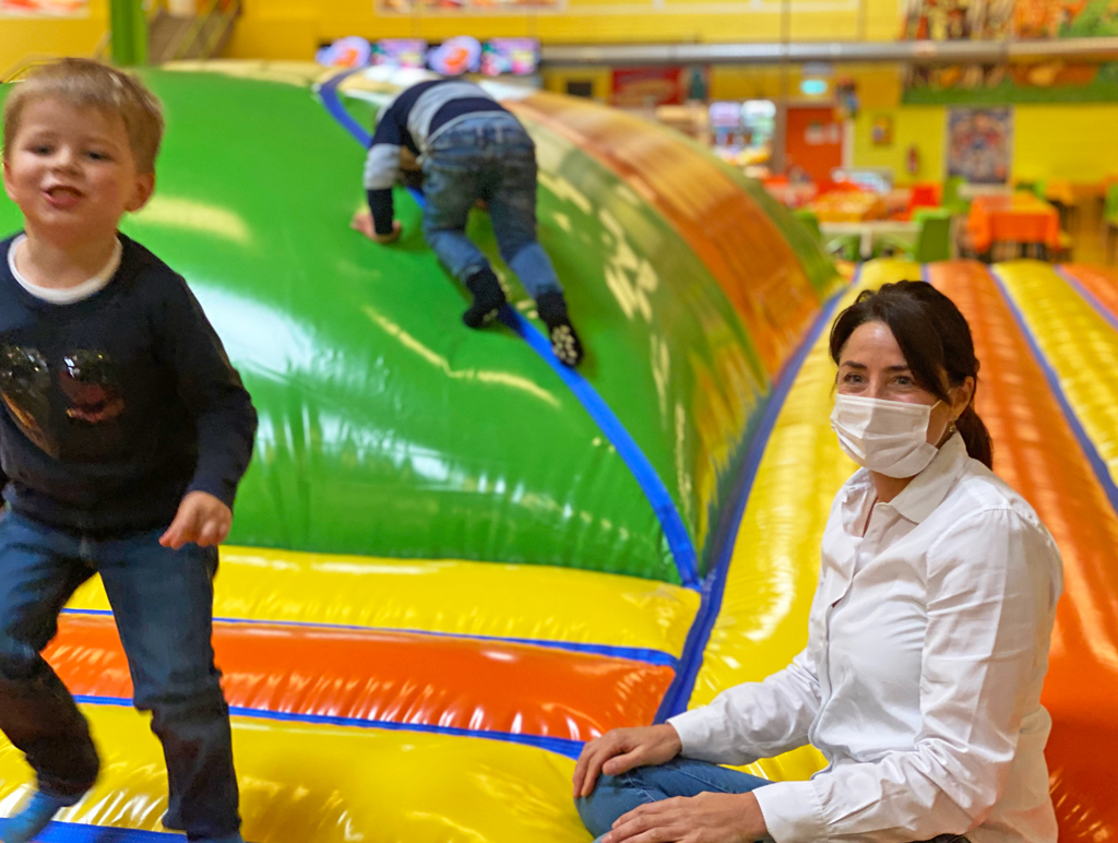 Spielen trotz Corona bei Jackelino: Das Wichtigste ist die Sicherheit der Kinder