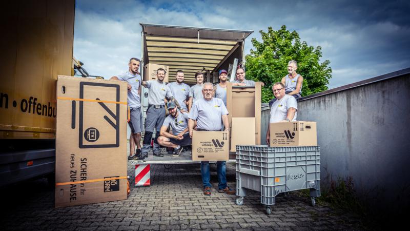 Wussler Umzüge GmbH steht für mehr als 100 Jahre Qualität und ist als TOP-UNTERNEHMEN ausgezeichnet