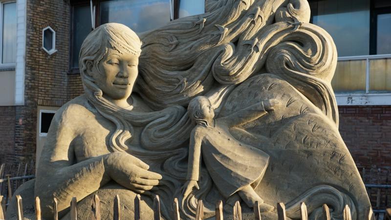 Sandburgen-Voting: Zandvoort sucht Europas schönste Sandskulptur 2020