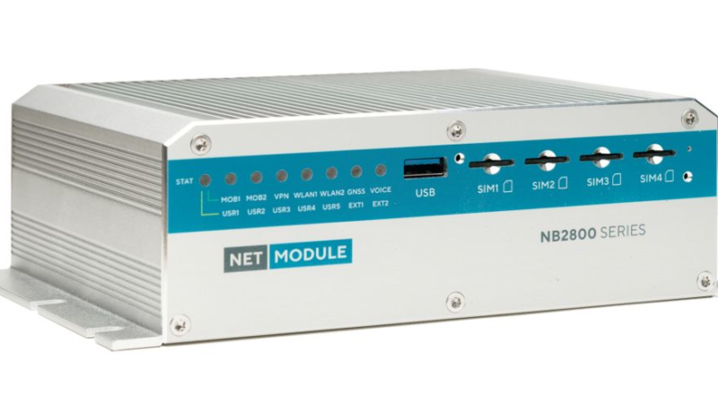 NetModule: Robust Communication für Transportation und ÖPNV