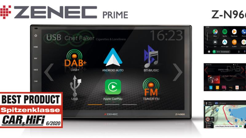 Premium Top-Class Infotainer: The Z-N966 from ZENEC