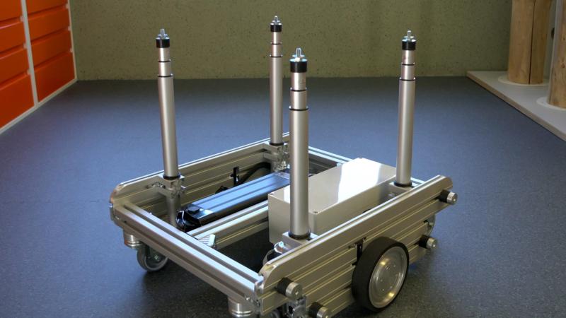 Neue modulare Antriebsplattform Ket-Rob für FTF und FTS