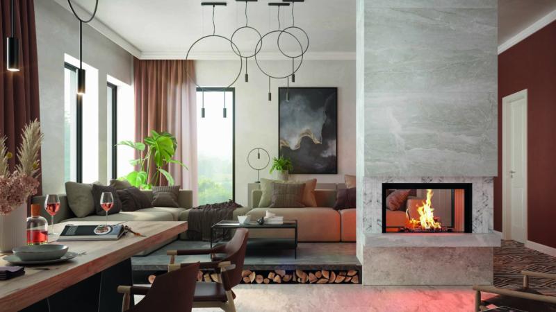 Vielseitige Feuer-Perspektiven für moderne Wohnwelten