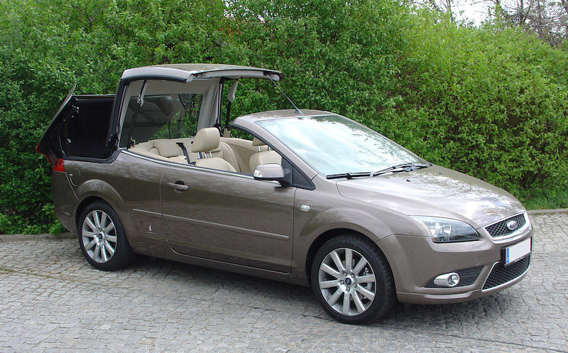 SmartTOP additional convertible top control for Ford Focus CC permanent price reduction