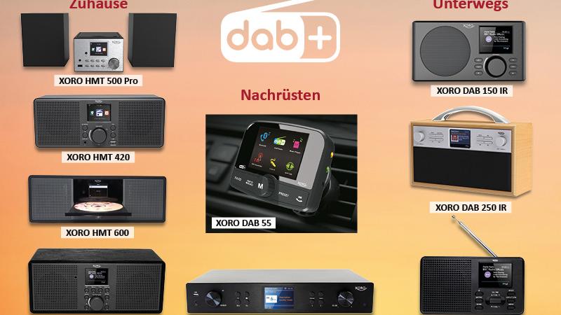 DAB + für jeden Bedarf